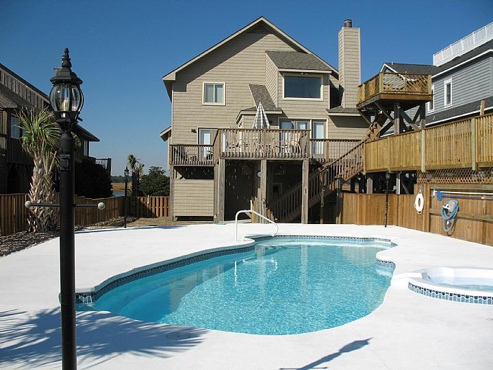 exterior - Ocean Isle West Blvd. 121 - Joyce - Ocean Isle Beach - rentals