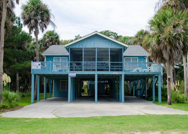 Jus Jill'Inn - Well Maintained Beach Walk Home - 4BR/2BA - Image 1 - Edisto Island - rentals