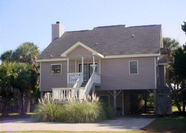 View of House - Waller's Hollow - Family Friendly Cottage - Edisto Island - rentals