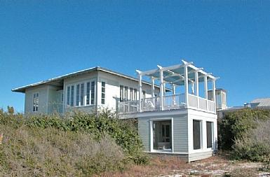 Front Exterior - Dune House - Seaside - rentals