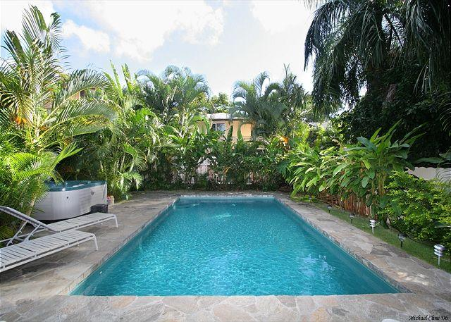 Pool, Jacuzzi, Endless Beaches Nearby, Walking distance to Waikiki - Image 1 - Honolulu - rentals