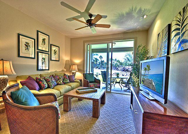 Spacious Two Bedroom, Two Bath Ocean View Elegance (Resort Fees Included) - Image 1 - Waikoloa - rentals