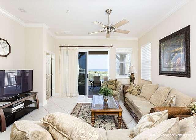 Enjoy sweeping ocean and golf views - 345 Cinnamon Beach Rentals, 4th floor, Ocean & Golf View, Wifi - Palm Coast - rentals