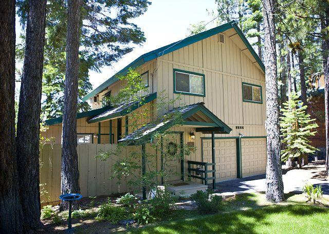 Exterior - The views are breathtaking, whether from the deck, hot tub or living room. - South Lake Tahoe - rentals