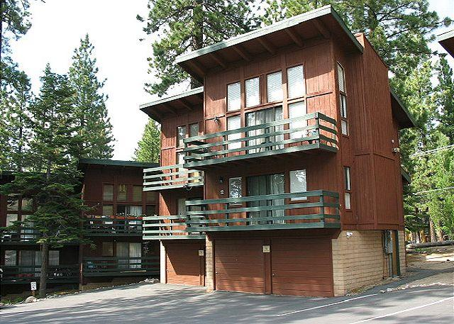 Exterior with Garage - 2BR/2BA condo across from California Lodge at Heavenly. Walk to the lifts! - South Lake Tahoe - rentals