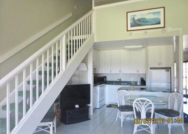 Living Room area - Turtle Bay 018 West *** Available for 30 day rentals. Please call - Kahuku - rentals