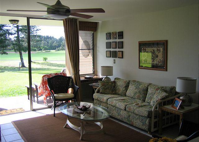 Living Room - Hale Kipa ** Available for 30 night rentals, please call - Kahuku - rentals