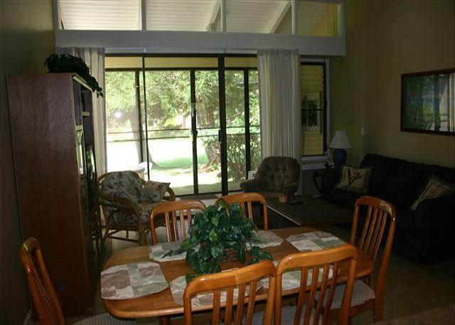 Living Room - Turtle Bay 064 East ***Available for 30 day rental - Kahuku - rentals