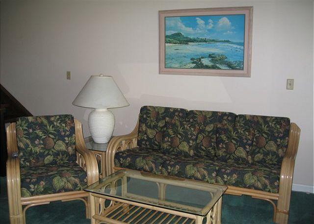 Living Room - Alea * Available for 30 night rentals. Please call. - Kahuku - rentals