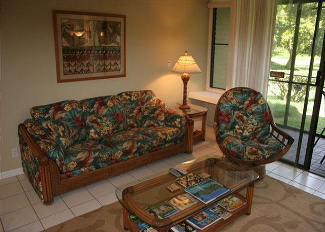Living Room - Turtle Bay 093 East *** Available for 30 day rental, please call. - Kahuku - rentals