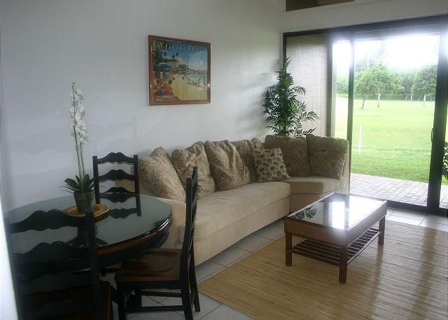 Living Room/Dining Area - Haupia ** Available for 30 night rental, please call - Kahuku - rentals