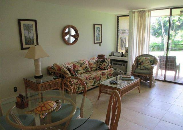 Living Room - Turtle Bay 109 East *** Available for 30 day rental, please call - Kahuku - rentals