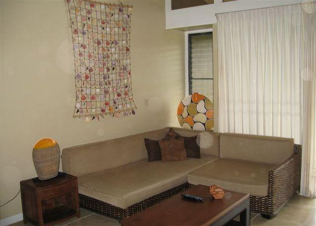 Living Room - Turtle Bay 111 West *** Available for 30 day rental, please call - Kahuku - rentals