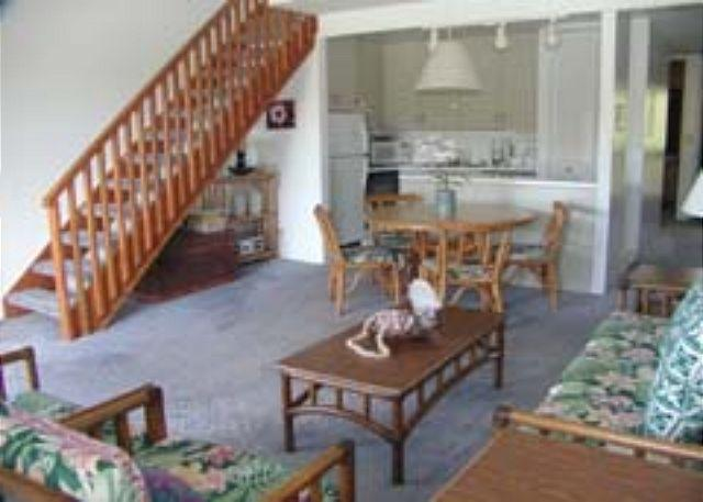 Livingroom/Kitchen - The Darrolee **  Available for 30 night rental, please call - Kahuku - rentals