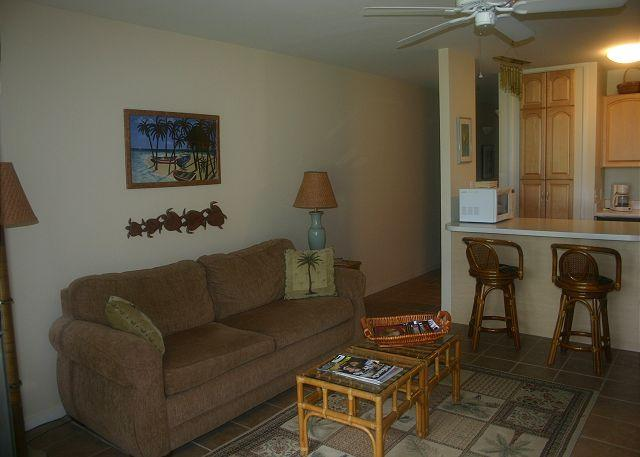 Livingroom/Kitchen - Ohana Hale *** Available for 2 nights, up to 30 nights or more - Kahuku - rentals