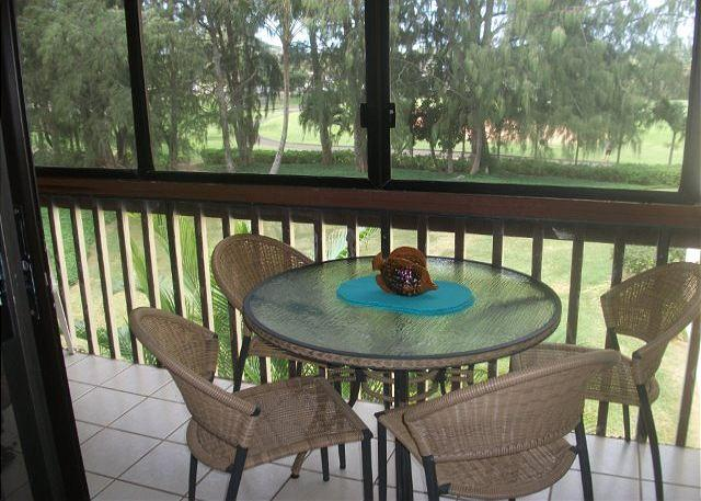 Lanai Area - Turtle Bay 166 East ***  Available for 30 day rental, please call - Kahuku - rentals