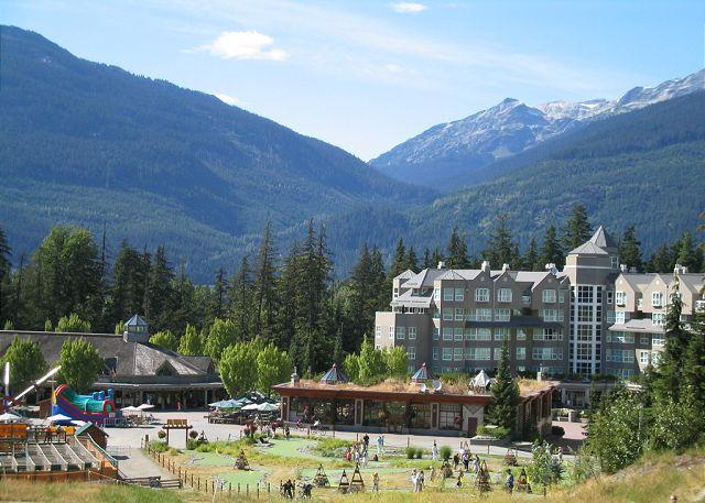Luxury Ski in ski out upgraded condo with hot tubs, pool, free internet, view - Image 1 - Whistler - rentals