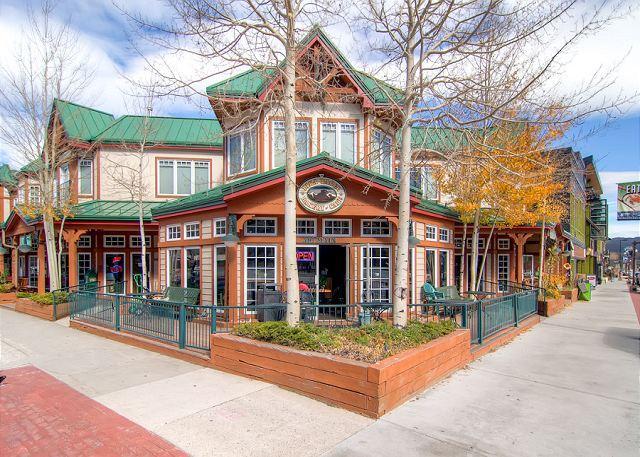 Fourth and Main Frisco Condo Exterior Frisco Lodging - 401 Main Condo Downtown Frisco Colorado Lodging - Frisco - rentals