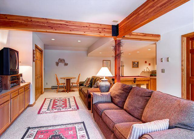 Brookside House Family Rec Room Breckenridge Lodging - Brookside House Private Home Hot Tub Breckenridge Colorado Vacation Rental - Breckenridge - rentals