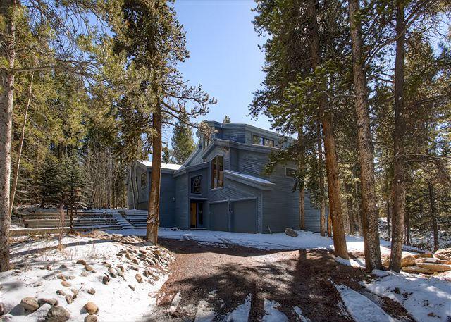 High Point House Breckenridge Lodging Luxury Home Rentals - High Point House Hot Tub Breckenridge Colorado Vacation Rental - Breckenridge - rentals