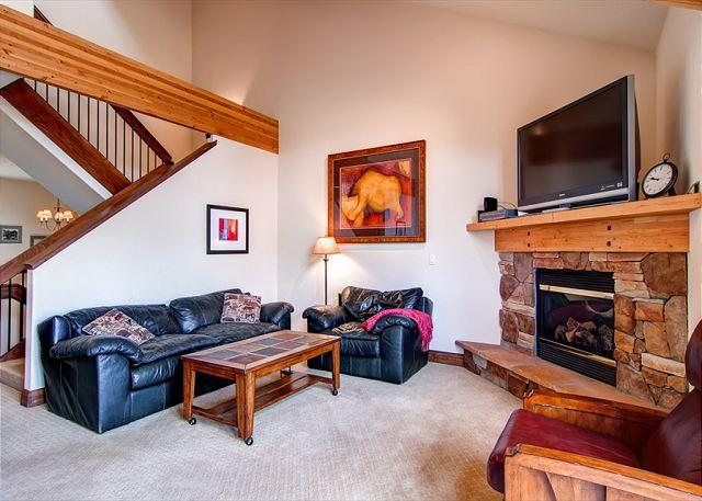 Marina Park Upstairs Living Room Frisco Lodging - Marina Park 19D Townhome Shared HT Downtown Frisco Colorado Vacation Rentals - Frisco - rentals