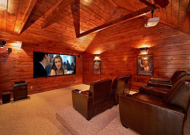 Private Theater Room - Luxury 3 bedroom cabin - Image 1 - Gatlinburg - rentals