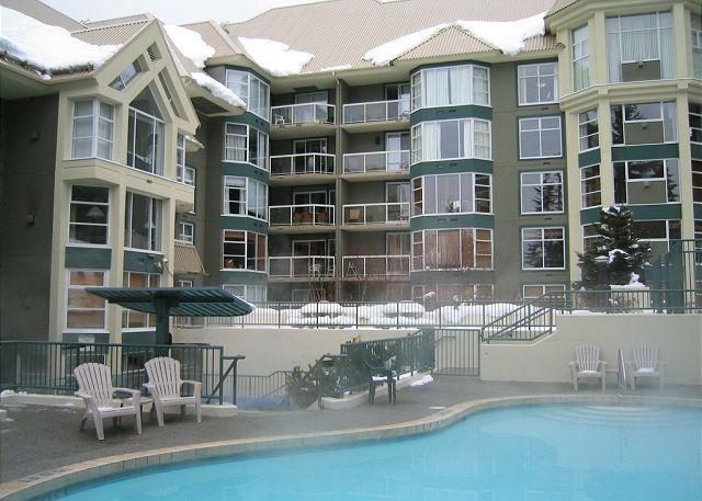 1+den, 2 bath, ski in, ski out, hot tub, pool, free internet, fireplace - Image 1 - Whistler - rentals