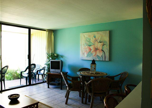Living Room/ Dining Area - Turtle Bay 127 East *  Available for 30 day rental, please call - Kahuku - rentals