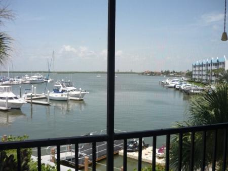 Gourgeus Marine View from Lanai - Anglers Cove K301 - Marco Island - rentals