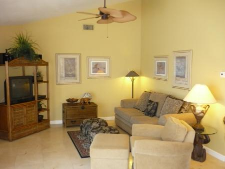 Family - Lovely Lanai with wide water views.....watch the dolphins play! - Marco Island - rentals
