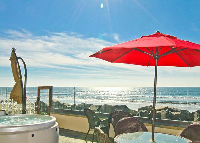 Rental on the Ocean with 4br/4ba, private spa and patio, bbq, newly built! - Image 1 - Oceanside - rentals