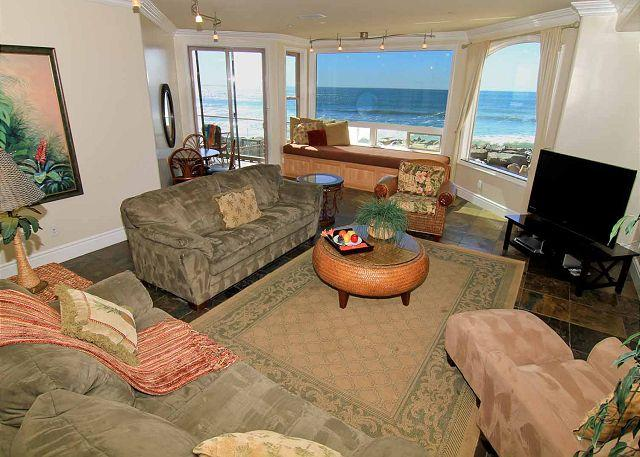 Luxury Oceantfront Condo, 5br/4ba, Spa, Large Kitchen P908-1 - Image 1 - Oceanside - rentals