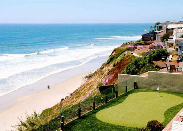 Oceanfront Retreat, 5br, 5ba, private putting , oceanfront patio, private spa - Image 1 - Encinitas - rentals