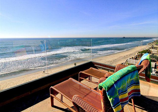5200sf Home on the Beach with 8br's, 5.5ba's, rooftop deck, private spas... - Image 1 - Oceanside - rentals
