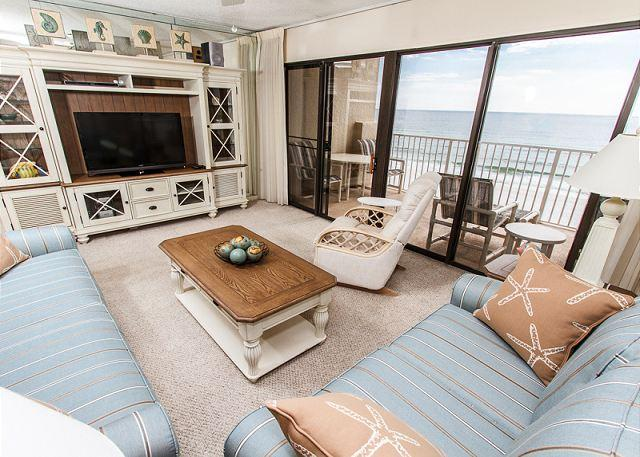What an astonishing view of the ocean! - GS 503: CORNER condo with beachy décor-HDTVs, Free Beach Service, GREAT VIEWS - Fort Walton Beach - rentals