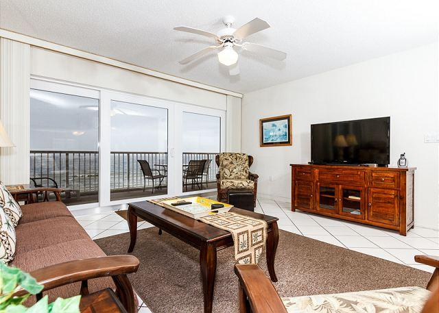 The view of our beautiful coastal beaches does more than take yo - Condo #6003:UPDATED in JANUARY 2014 beachfront condo- WiFi,FREE BEACH SERVICE - Fort Walton Beach - rentals