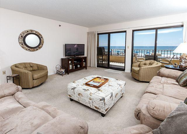 Fresh paint in early 2014, new furniture additions but still the - SD 208:Large beachfront unit- WiFi, balcony, pool, tennis,Free Beach Chairs - Fort Walton Beach - rentals