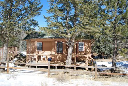 View of Home - Anasazi - Estes Park - rentals