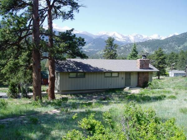 Views of the Continental Divide - Great Outdoors - Estes Park - rentals