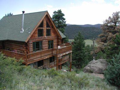 Beautiful Log Home - Perfect Mountain Log - Estes Park - rentals