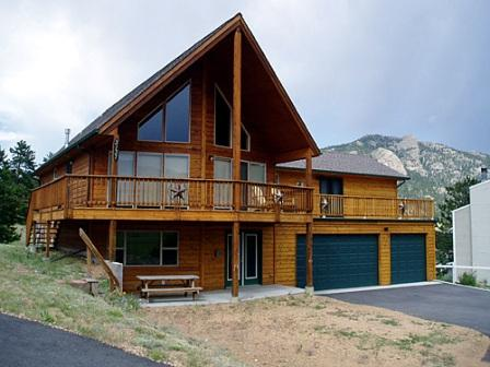 View of Home - Wildlife and Mountains - Estes Park - rentals