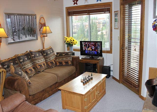 BR201G Cute Condo w/Great Views, Wifi, Fireplace, Clubhouse & Carport - Image 1 - Silverthorne - rentals