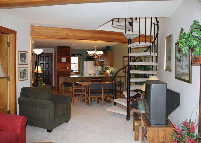 SS101 Great Condo w/Fireplace, Clubhouse, Wifi - Image 1 - Silverthorne - rentals