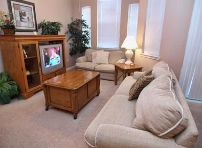 Sit and Relax in the Living Room - Enchanted Retreat - Davenport - rentals