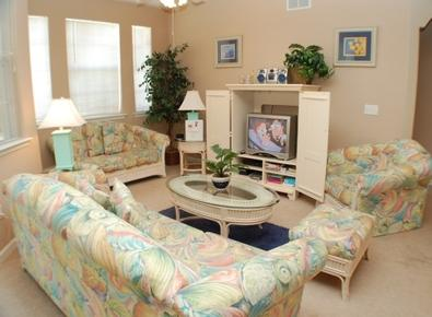Cozy Living Room with Beautiful Lighting - Terrace Palm Haven - Davenport - rentals