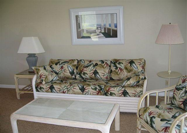 Living Room - Lilikoi **  Available for 30 night rental, please call - Kahuku - rentals