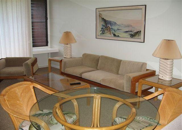 Living Room/dining area - Guava **  Available for 30 night rental, please call - Kahuku - rentals