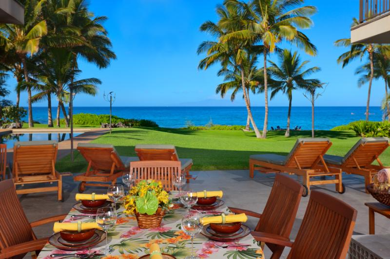 Plenty of Lounging and Outdoor Living Areas - Wailea Sunset Estate - Maui - rentals