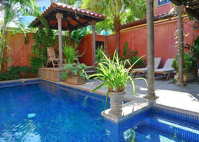 Pool - Comfortable luxury villa- across from beach, kitchen, cable, internet, piano - Tamarindo - rentals
