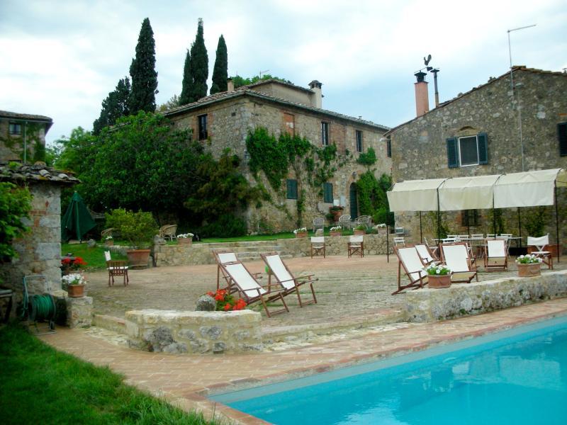 Tuscany Holiday Villa - Monteriggioni - La Volta - Image 1 - Monteriggioni - rentals